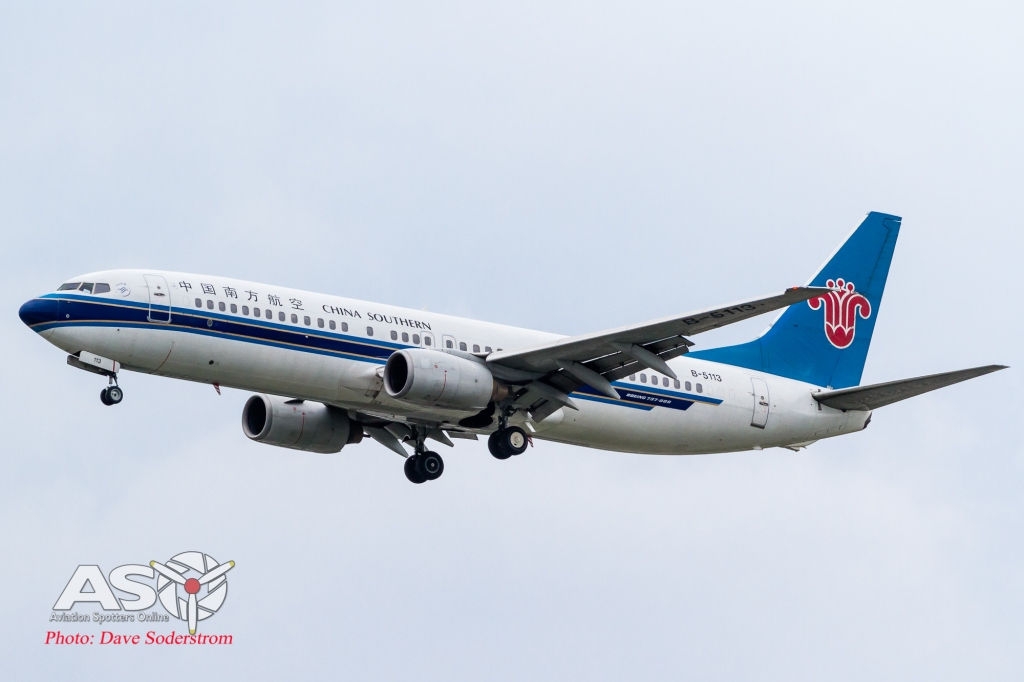 B-5113 China Southern Boeing 737-800 ASO (1 of 1)