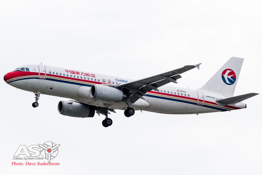 B-6713 China Eastern Airbus A320 ASO (1 of 1)