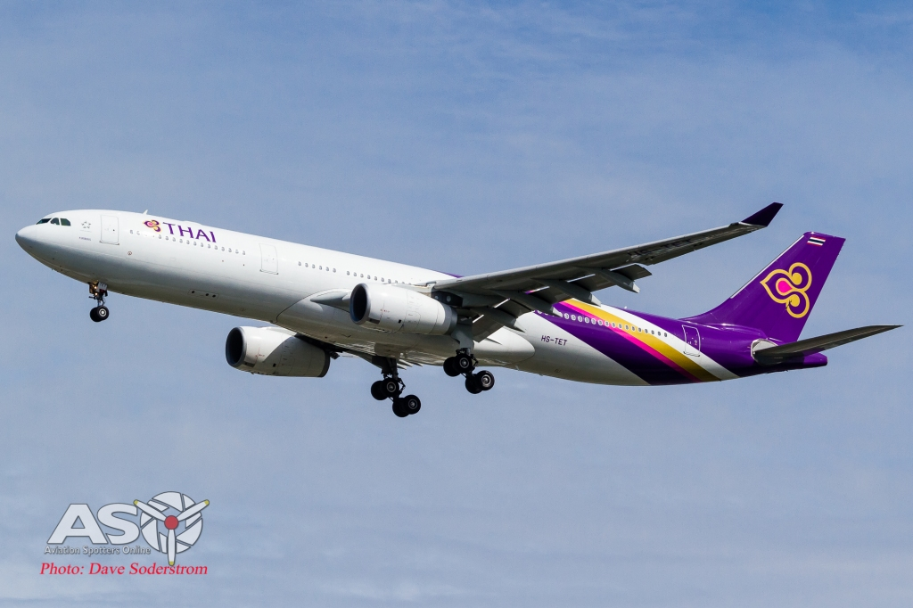 HS-TET Thai Airways Airbus A330 ASO (1 of 1)