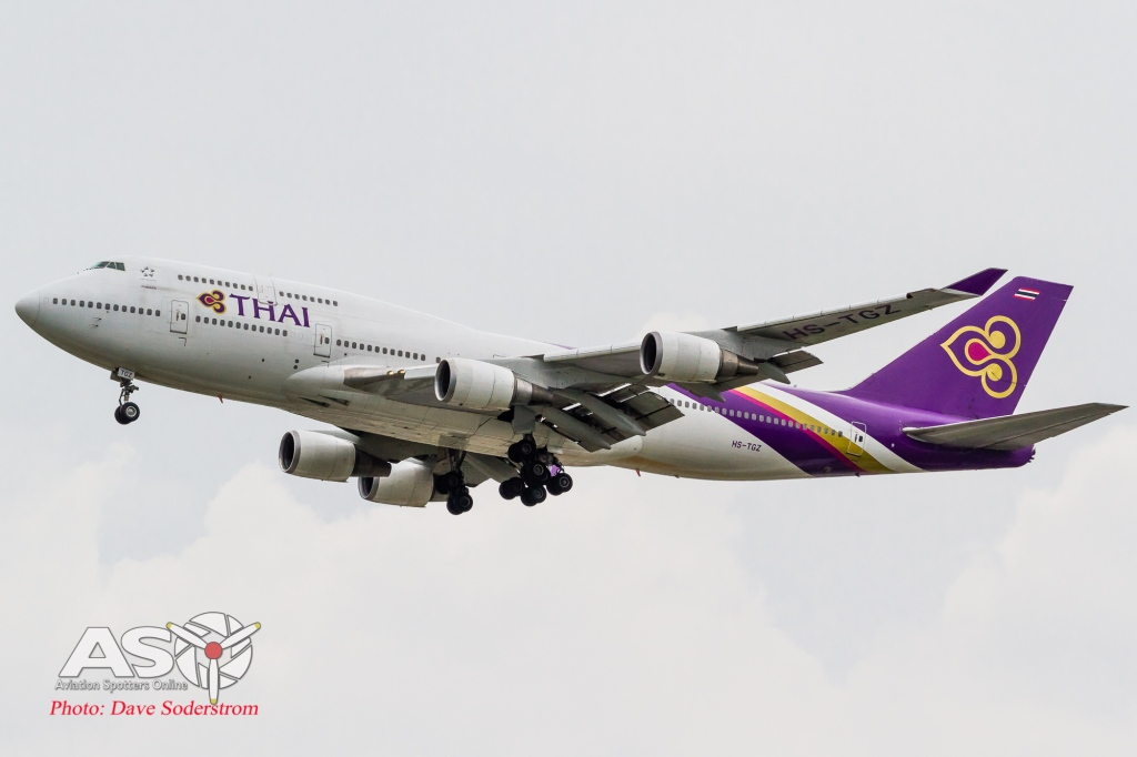 HS-TGZ Thai Airways Boeing 747-400 ASO (1 of 1)