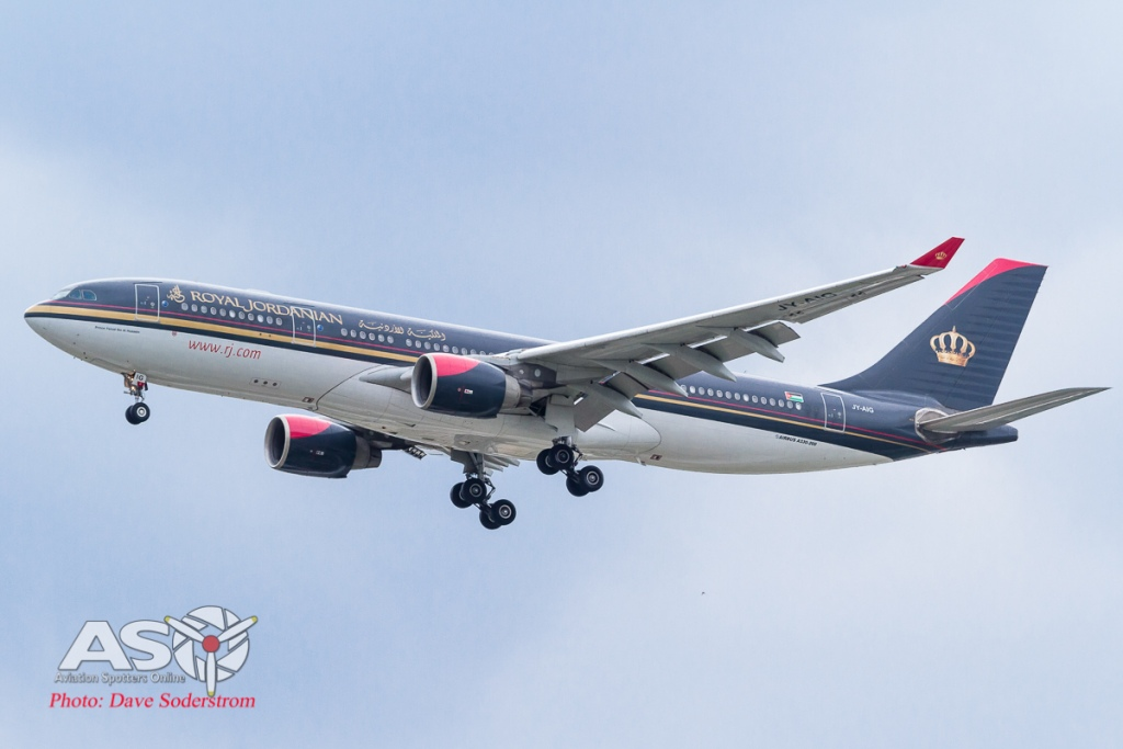 JY-AJQ Royal Jordanian Airbus A330 ASO (1 of 1)