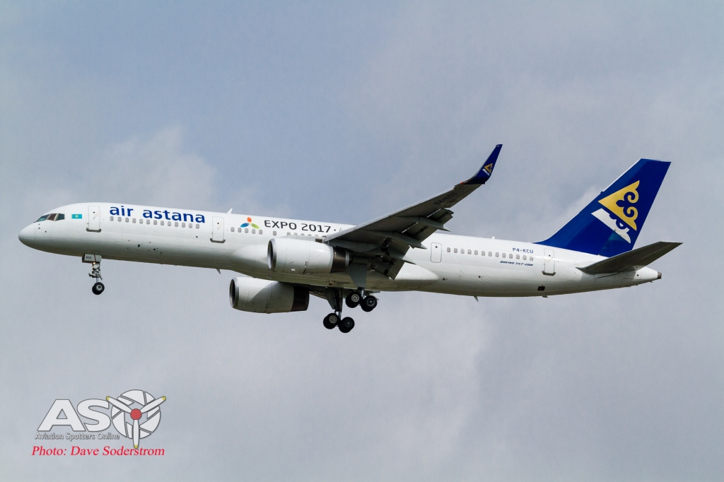 P4-KCU Air Astana Boeing 757-200WL ASO (1 of 1)