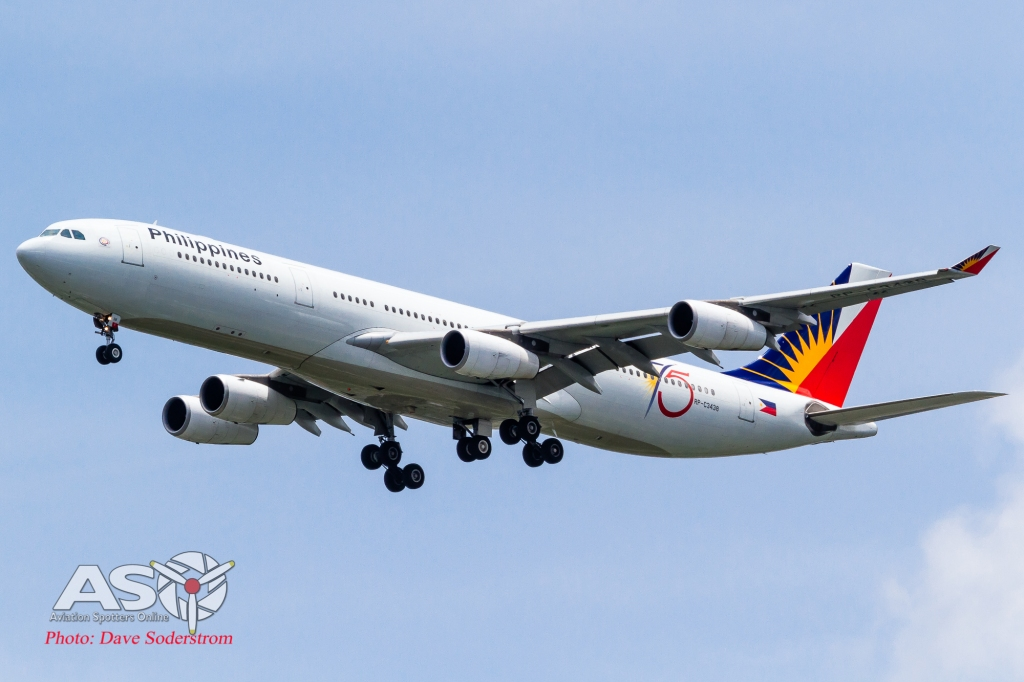 RP-C3438 Philippine Airlines Airbus A340-300 ASO (1 of 1)