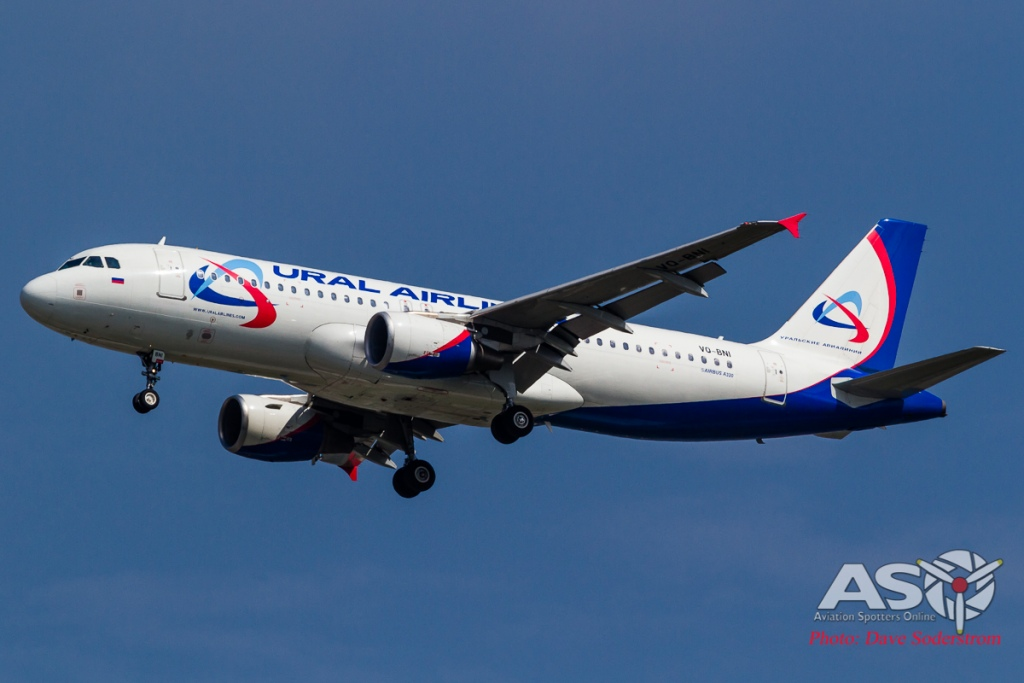 VQ-BNI Ural Airlines Airbus A320 ASO (1 of 1)