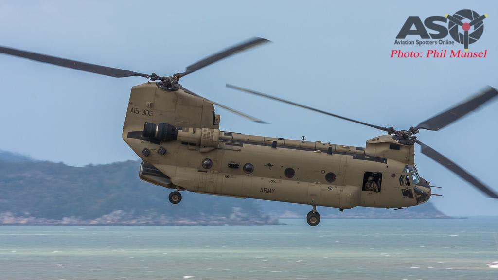 Australian Army CH-47F Chinook