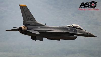 USAF F-16 inbound.