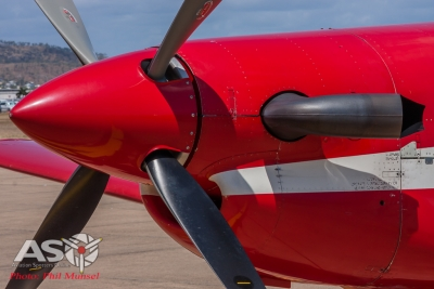 RAAF Pilatus PC-9A Roulettes (57)