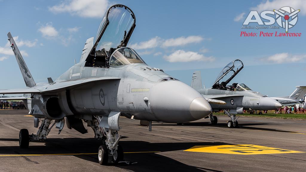 F/A-18 Hornet A21-39 &; A21-