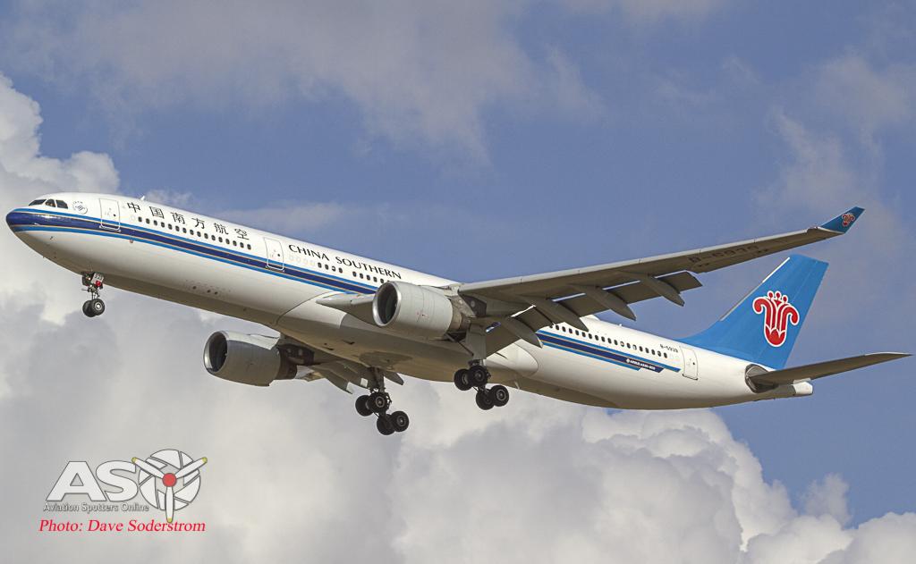 China Southern A330 ASO