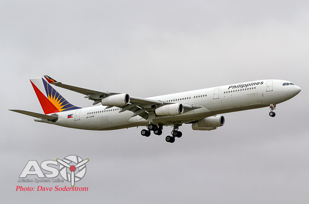Phillippines A340 ASO