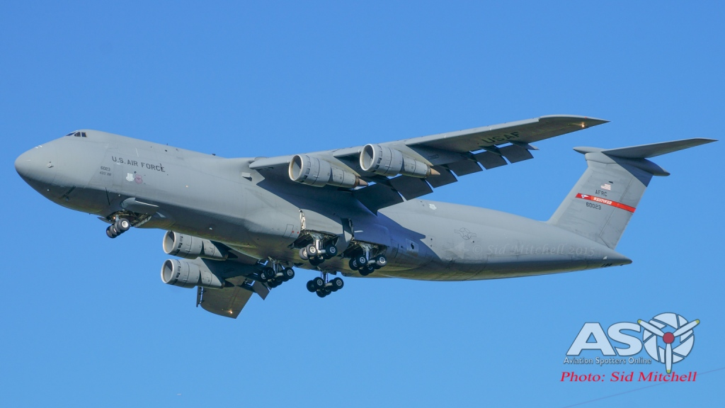 C-5M Super Galaxy 439th Airlift Wing Westover AFB