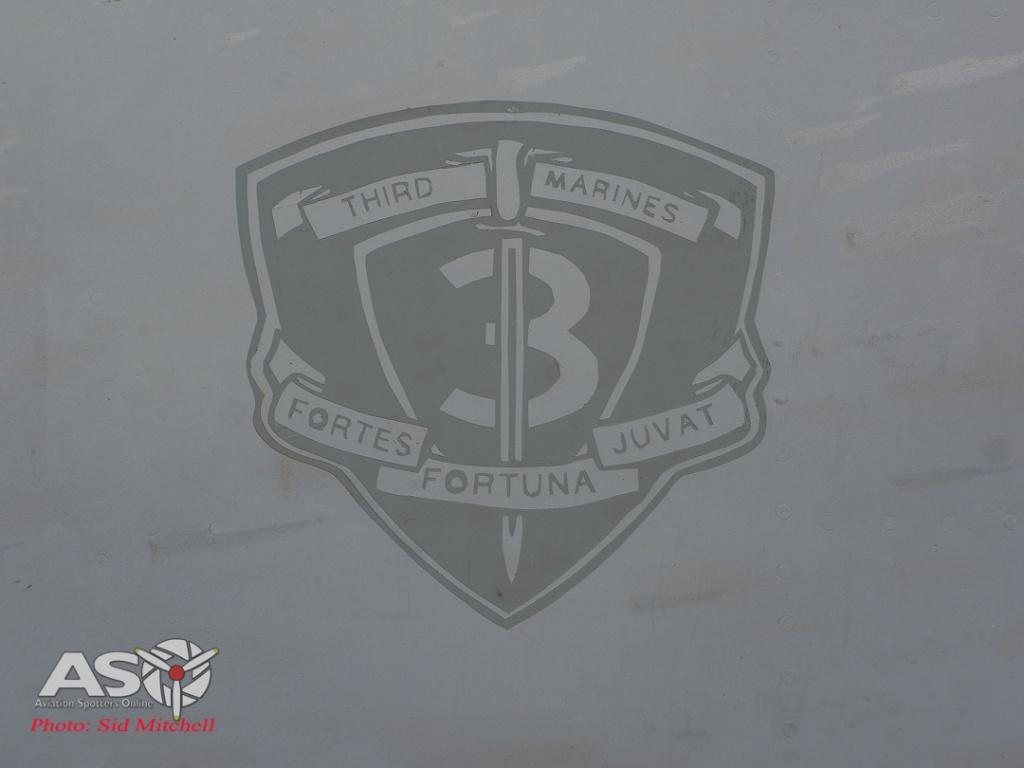 USMC 3rd Marine Regiment insignia