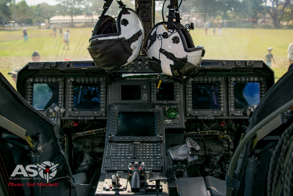 "Cockpit of VMM-265 Osprey ""00"" July 2015"