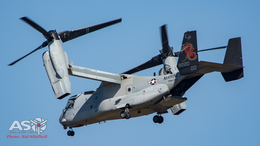 "VMM-265 Osprey ""00"" July 2015"
