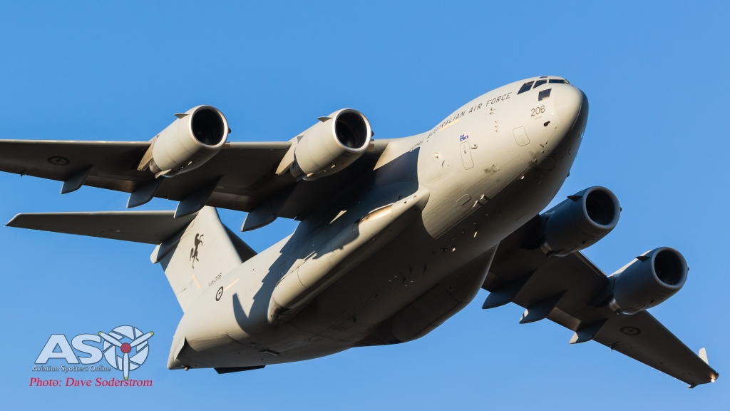 More Heavy Metal - RAAF C-17