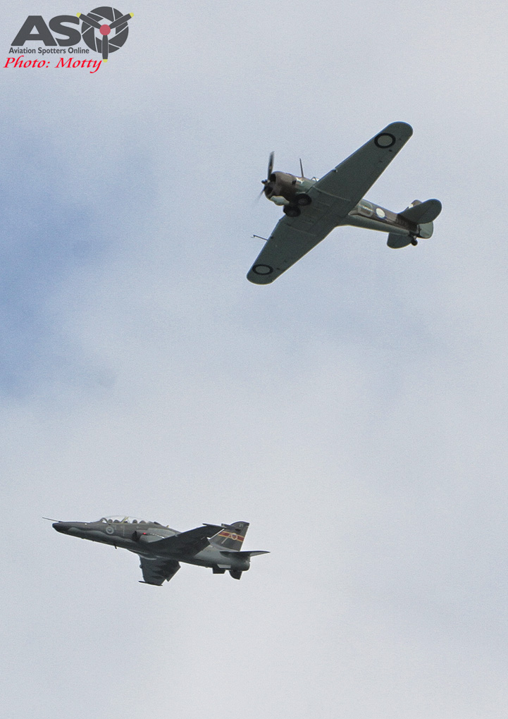 Mottys Williamtown Centenary 1 Practice Day Wirraway and Hawk Newcastle 0010-ASO