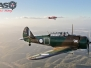 Wirraway VH-WWY Air-to-Air