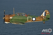 Mottys Paul Bennet Airshows Wirraway VH-WWY A2A 0410-ASO