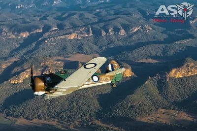 Mottys Paul Bennet Airshows Wirraway VH-WWY A2A 0060-ASO