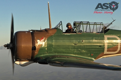Mottys Paul Bennet Airshows Wirraway VH-WWY A2A 0190-ASO