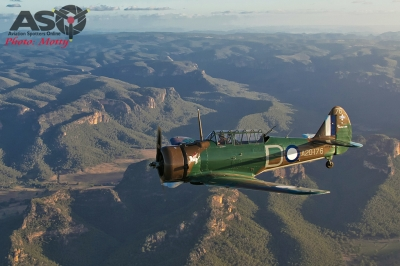 Mottys Paul Bennet Airshows Wirraway VH-WWY A2A 0200-ASO