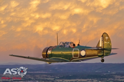 Mottys Paul Bennet Airshows Wirraway VH-WWY A2A 0340-ASO