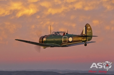 Mottys Paul Bennet Airshows Wirraway VH-WWY A2A 0390-ASO