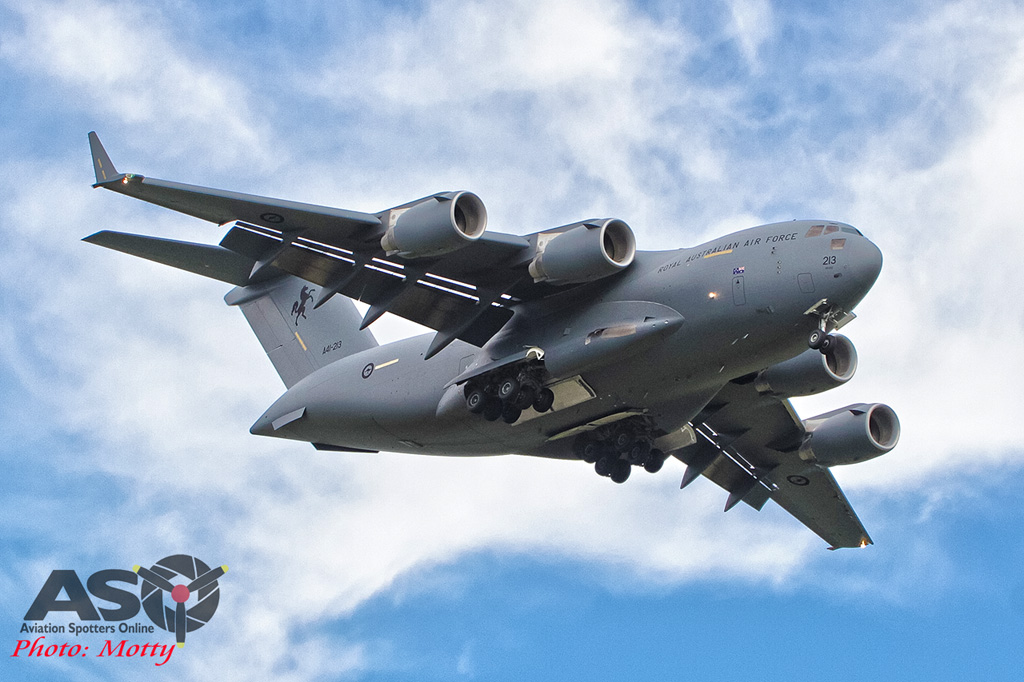 Wings Over Illawarra 2016 Globemaster III-171