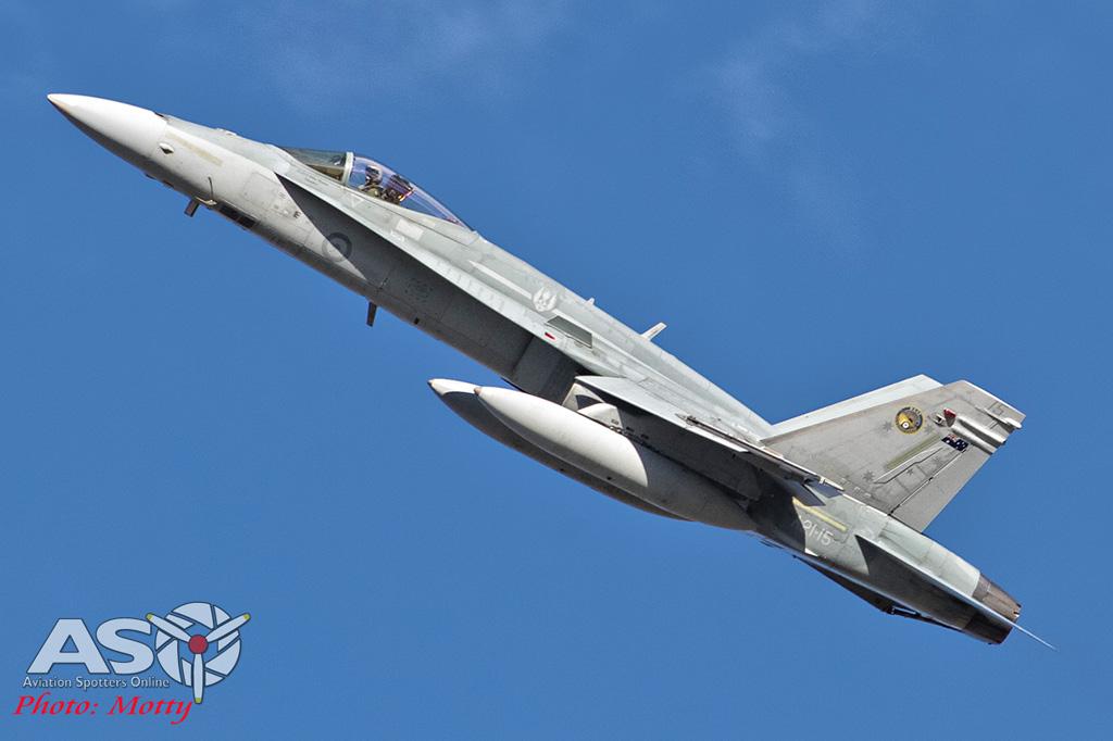 Wings Over Illawarra 2016 Hornet-308