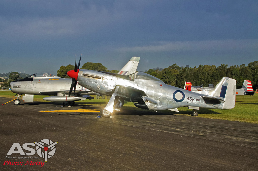 Wings Over Illawarra 2016 Trappett Mustang-011
