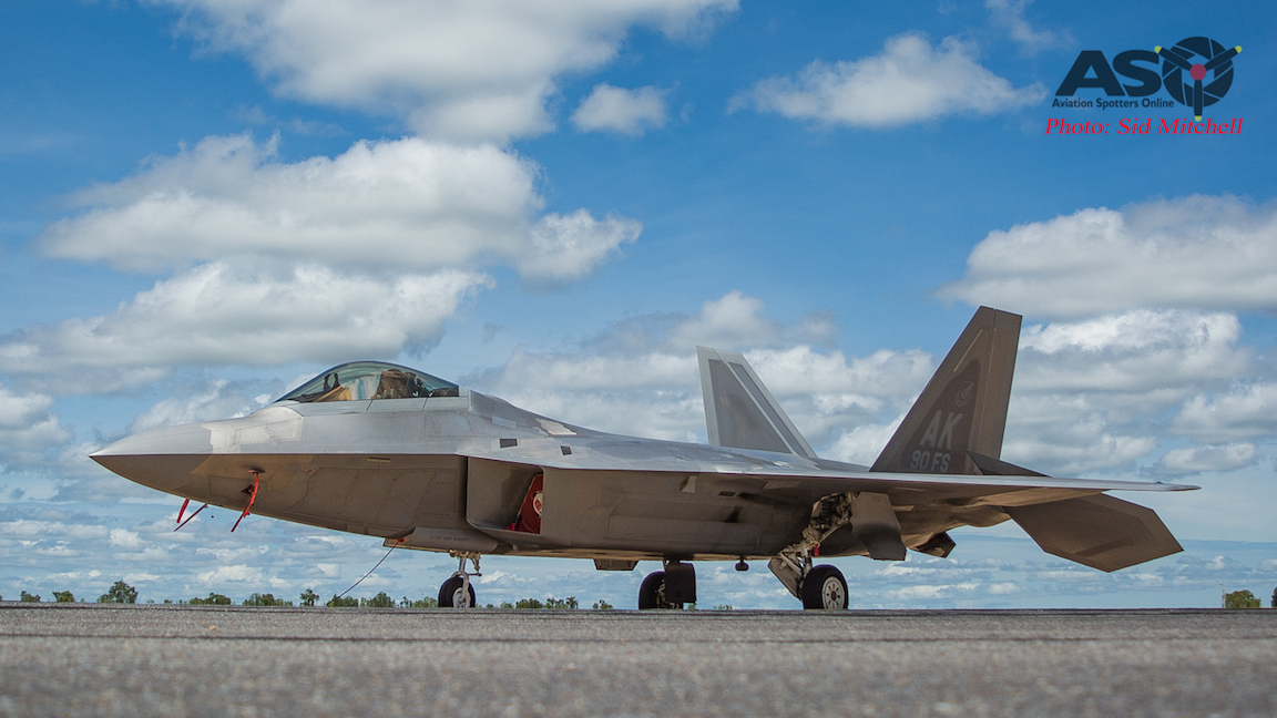 Enhanced Air Cooperation – the first in Australia combining the USAF F-22 and RAAF F/A-18