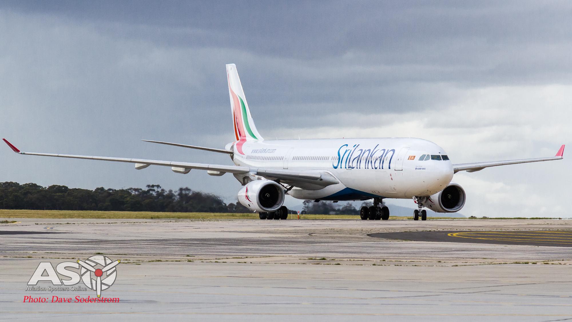 Colombo to Melbourne, SriLankan returns to Australia.