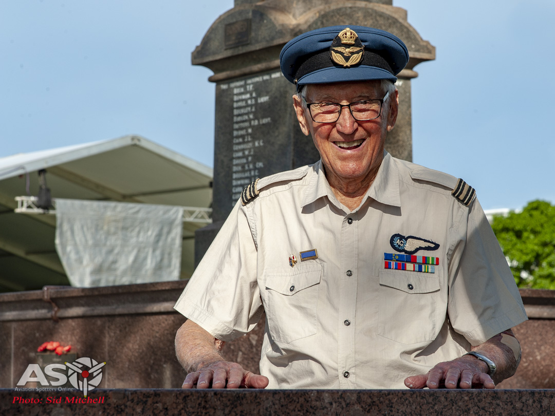 In Memory of No2 and No13 Hudson squadrons – a plaque unveiled in Darwin by Veteran Air Gunner