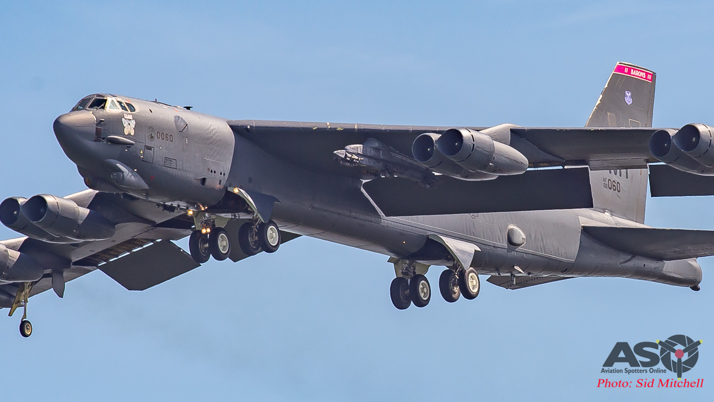 'Iron Butterfly' – a close look at the B-52H Stratofortress during Exercise Diamond Storm 2019