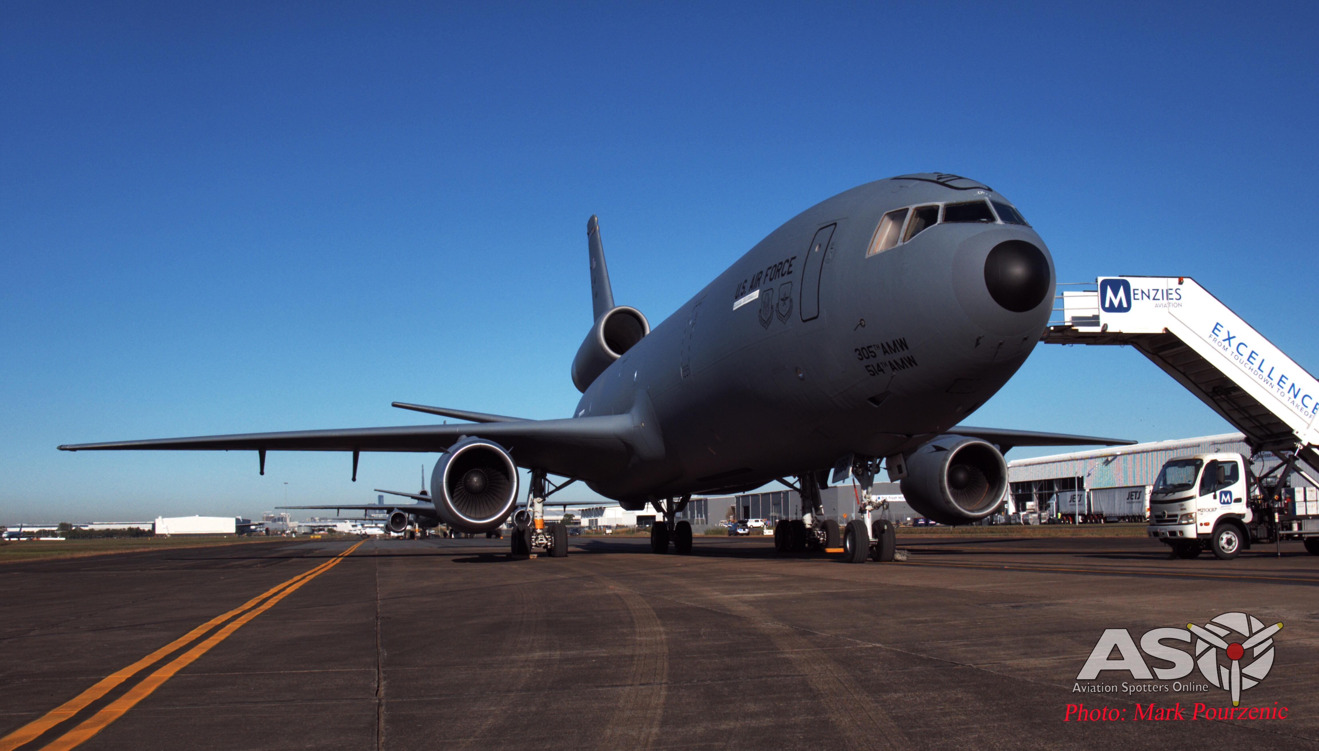 Exercise Talisman Sabre 2019 – USAF McDonnell Douglas KC-10A Extender Media Flight
