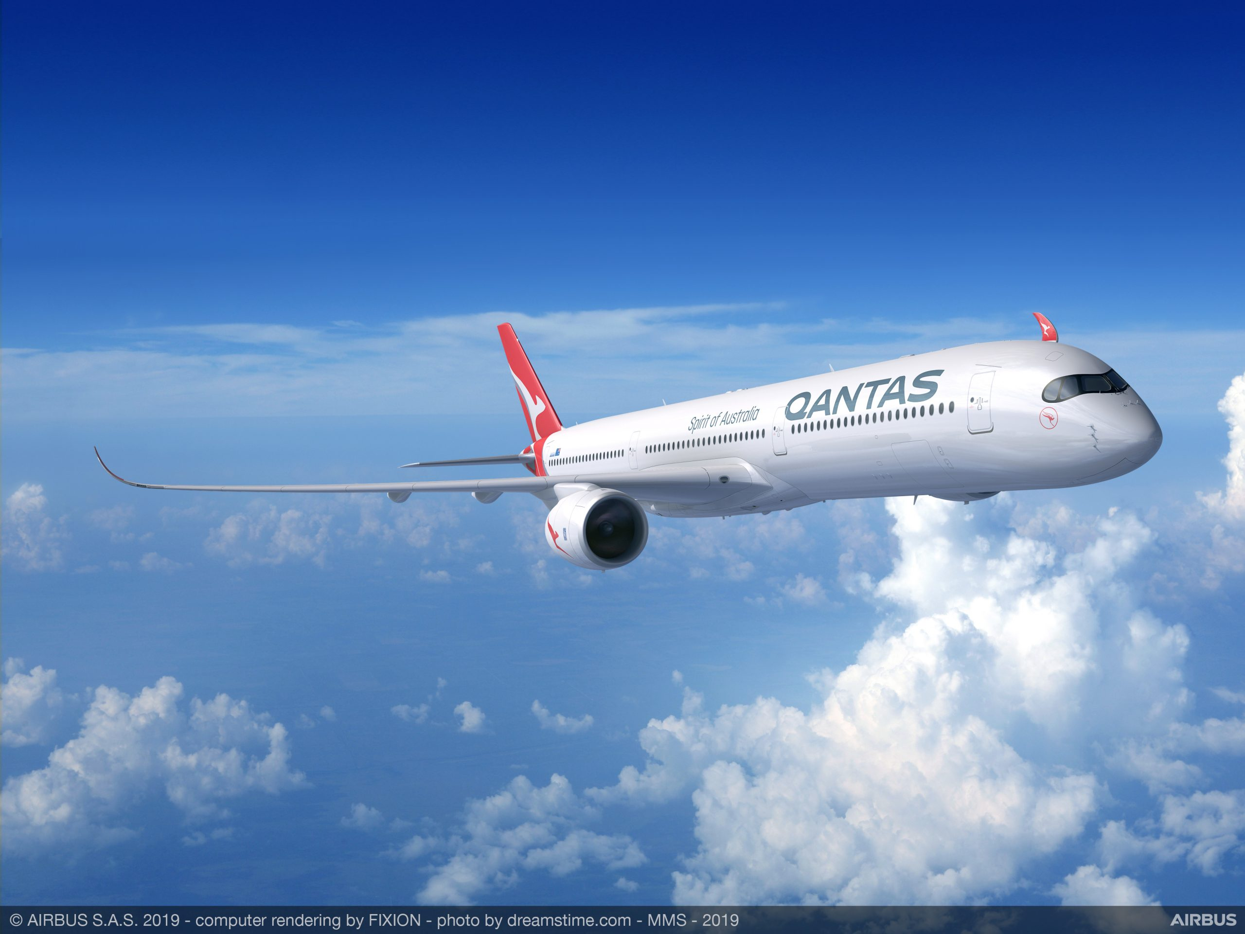 QANTAS Project Sunrise aircraft Selection, Airbus A350-1000