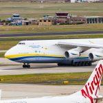 Antonov Airlines visits Melbourne & Darwin Airports