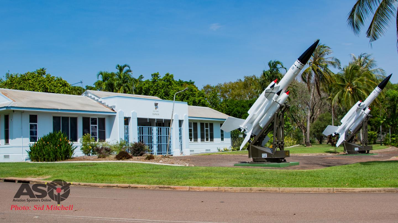 Bloodhounds freshen up – RAAF Base Darwin