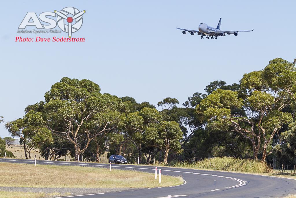 Spotting at Melbourne's Tullamarine Airport.