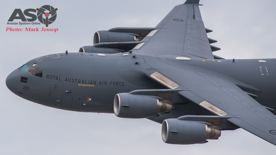 Two RAAF C-17A To Coduct Low Level Coastal Training Flight