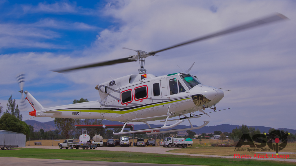 Bell 212 VH-NPO Complete rebuild