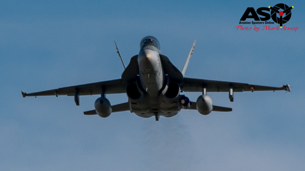 Air Force F/A-18 Hornets and Hawk flying around Hunter and Mid-North Coast