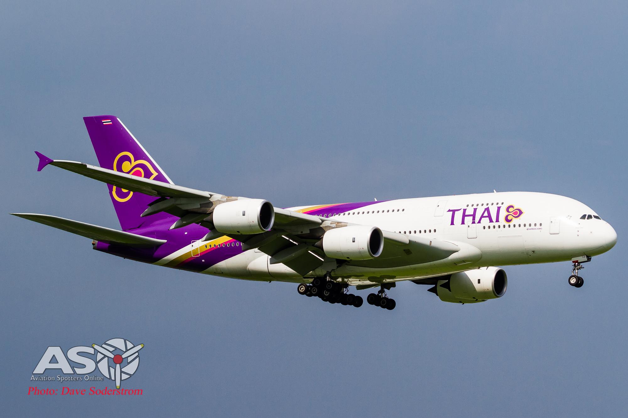 Spotting in Thailand, Part 1. Suvarnabhumi Airport