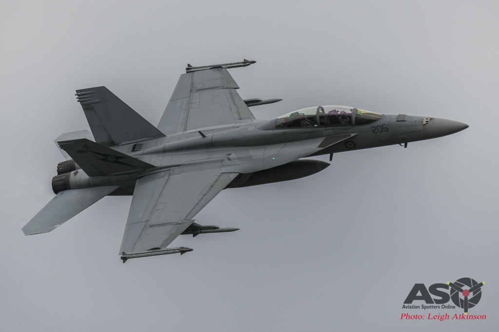Super Hornet going solo for Townsville