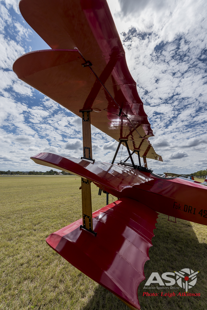 Classic canvas on display at TAVAS Fly in – This Weekend