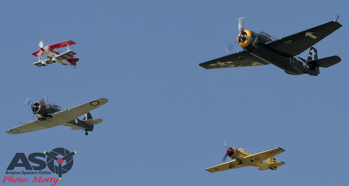 Warbirds return to New Guinea