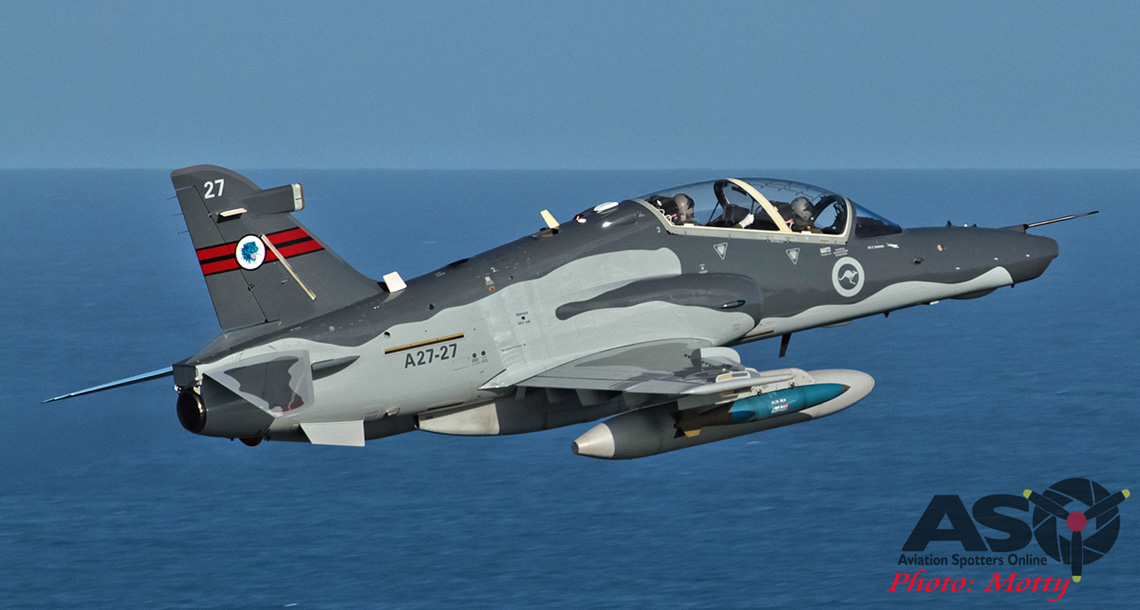 BAE Systems' upgraded Hawks take to the sky