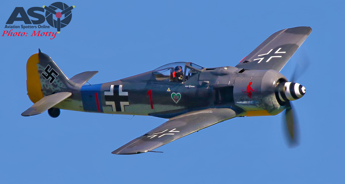 Warbirds over Scone-Heads Up