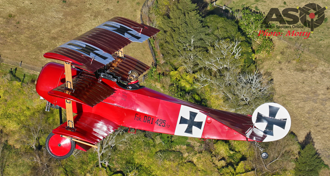 The Red Baron Flies Again.