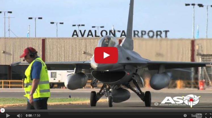 USAF PACAF arrivals at Australian International Airshow 2015.